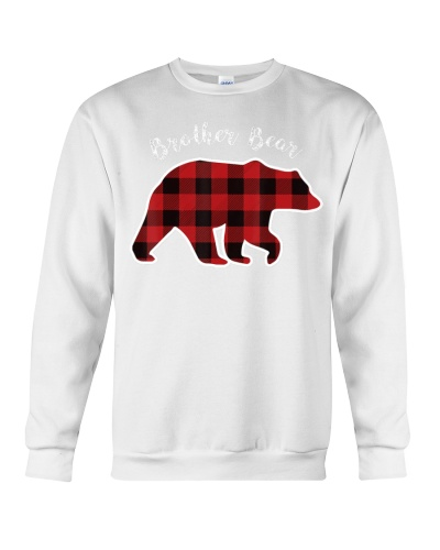 BROTHER BEAR  Men Red Plaid Christmas Pa
