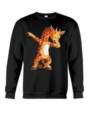 Dabbing Giraffe T shirt Giraffes Funny Dab  Crewneck Sweatshirt thumbnail