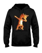 Dabbing Giraffe T shirt Giraffes Funny Dab  Hooded Sweatshirt thumbnail