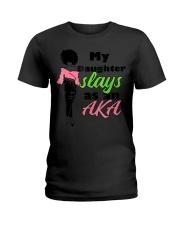 AKA Sorority Daughter Paraphernalia Gi Ladies T-Shirt thumbnail