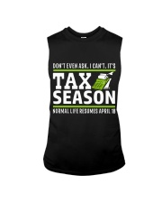 Tax Season 2018 Shirt Funny Office T-shirt Sleeveless Tee tile