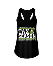 Tax Season 2018 Shirt Funny Office T-shirt Ladies Flowy Tank tile