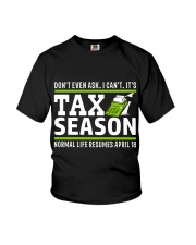 Tax Season 2018 Shirt Funny Office T-shirt Youth T-Shirt tile