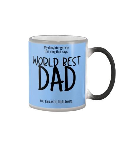 World Kinda Best Dad Mug - Father's Day Edition
