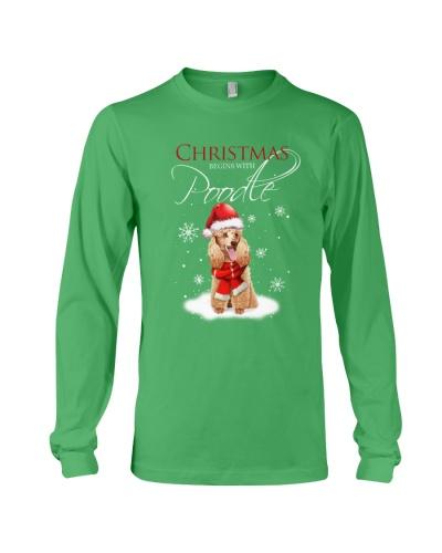 Poodle Christmas Gift