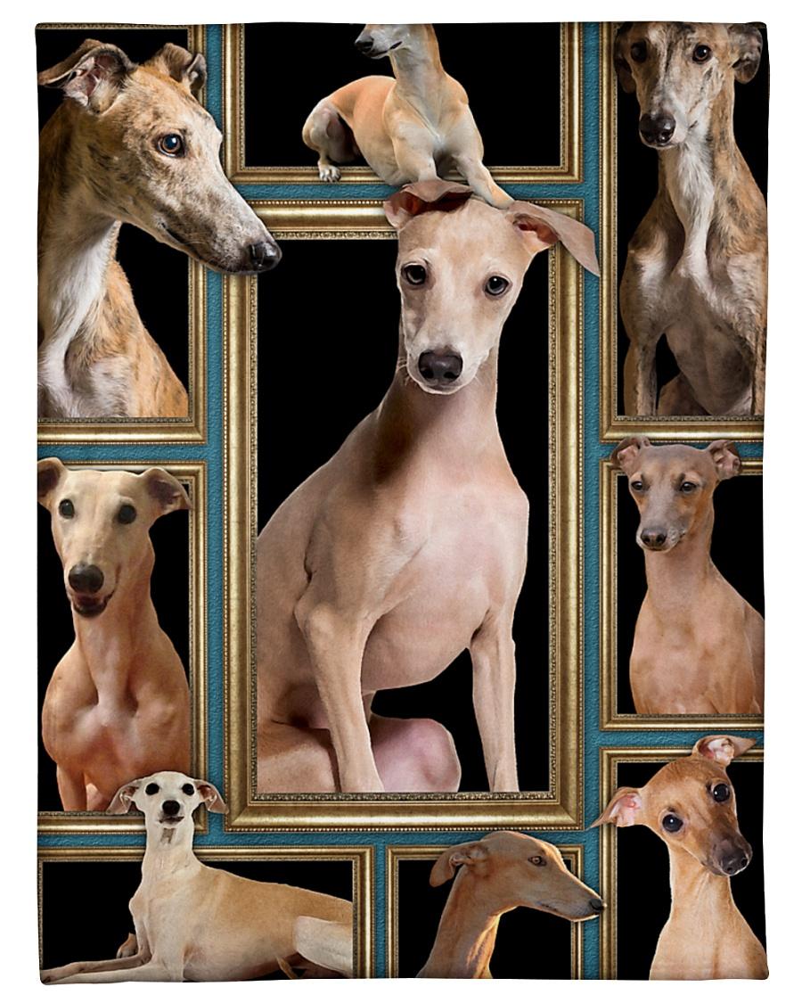 "greyhound Picture Small Fleece Blanket - 30"" x 40"""