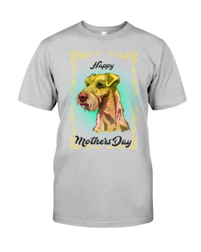 Irish terrier mom