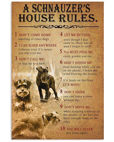 Schnauzer House Rules