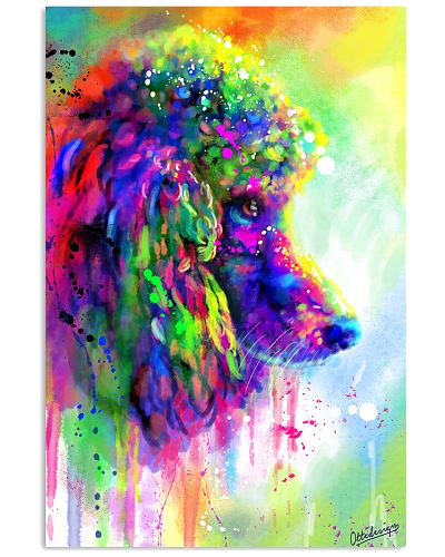 Poodle Water color