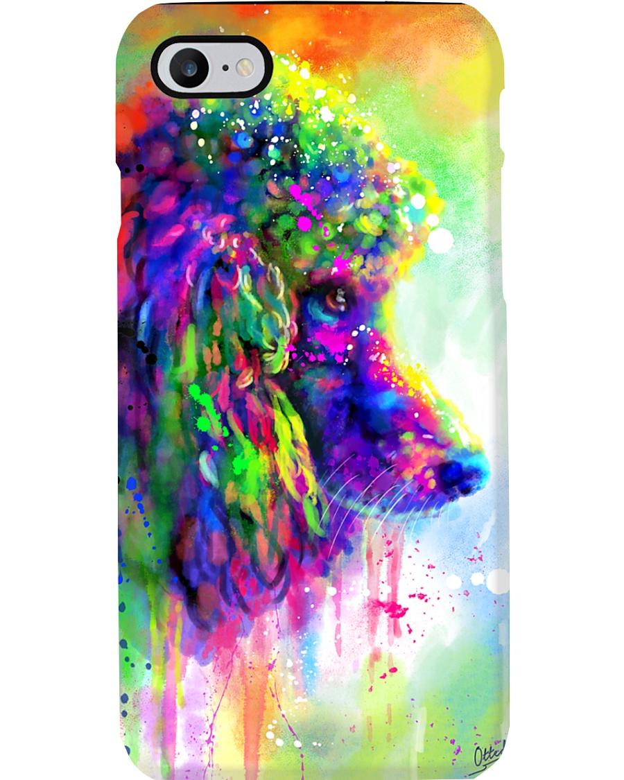 Poodle Water Color Phone Case Phone Case