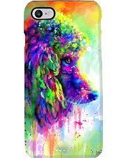 Poodle Water Color Phone Case Phone Case i-phone-7-case