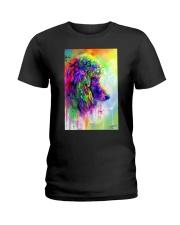 Poodle Water Color Phone Case Ladies T-Shirt thumbnail