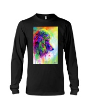 Poodle Water Color Phone Case Long Sleeve Tee thumbnail