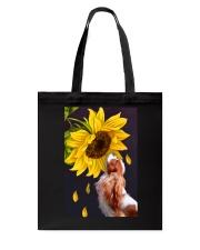 Cavalier sunflower Tote Bag thumbnail
