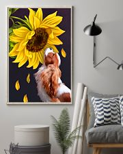 Cavalier sunflower 11x17 Poster lifestyle-poster-1