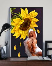 Cavalier sunflower 11x17 Poster lifestyle-poster-2
