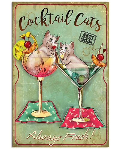 Cocktail Cats Always Fresh