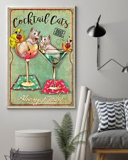 Cocktail Cats Always Fresh  11x17 Poster lifestyle-poster-1