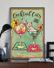 Cocktail Cats Always Fresh  11x17 Poster lifestyle-poster-2