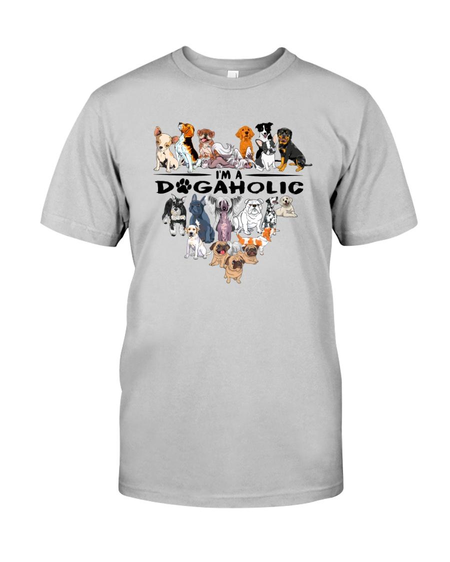 I Am A DogAholic Classic T-Shirt