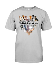 I Am A DogAholic Classic T-Shirt front