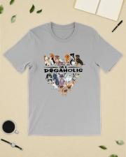 I Am A DogAholic Classic T-Shirt lifestyle-mens-crewneck-front-19