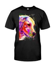 Golden Retriever Water Color Art A2 Classic T-Shirt thumbnail