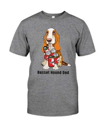 Basset Hound Beer Dad