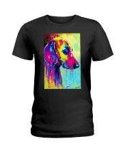 Weimaraner Water Color Ladies T-Shirt thumbnail