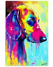 Weimaraner Water Color 11x17 Poster thumbnail