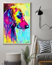 Weimaraner Water Color 16x24 Poster lifestyle-poster-1