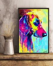 Weimaraner Water Color 16x24 Poster lifestyle-poster-3
