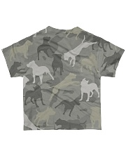PITBULL ARMY All-over T-Shirt back