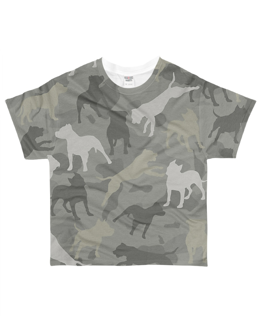 PITBULL ARMY All-over T-Shirt
