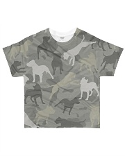 PITBULL ARMY All-over T-Shirt front