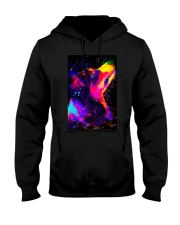 Border Collie Poster Splash Hooded Sweatshirt thumbnail