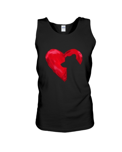 Border collie Heart