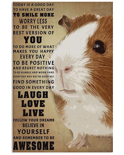 Guinea pig to be awesome