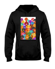 Dachshund Multi Hooded Sweatshirt thumbnail