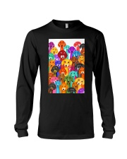 Dachshund Multi Long Sleeve Tee thumbnail