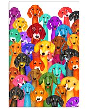 Dachshund Multi 11x17 Poster front