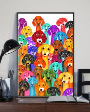 Dachshund Multi 11x17 Poster lifestyle-poster-2