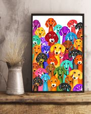 Dachshund Multi 11x17 Poster lifestyle-poster-3