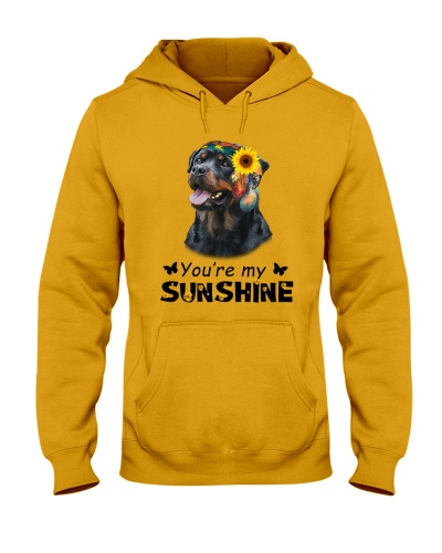 Your Are My Sunshire Rottweiler Dog