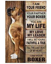 Boxer Partner 11x17 Poster thumbnail