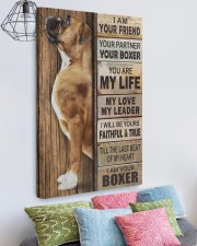 Boxer Partner 20x30 Gallery Wrapped Canvas Prints aos-canvas-pgw-20x30-lifestyle-front-02