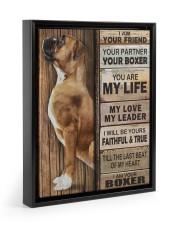 Boxer Partner 11x14 Black Floating Framed Canvas Prints thumbnail