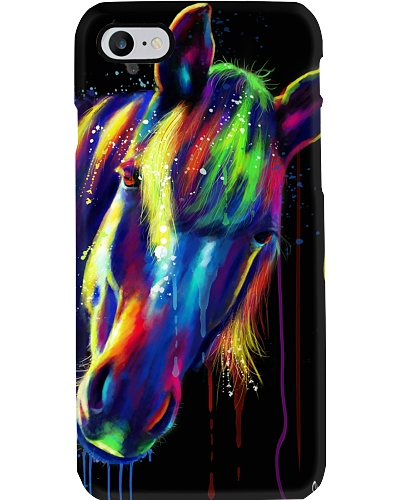 Horse Water Color Phone Case