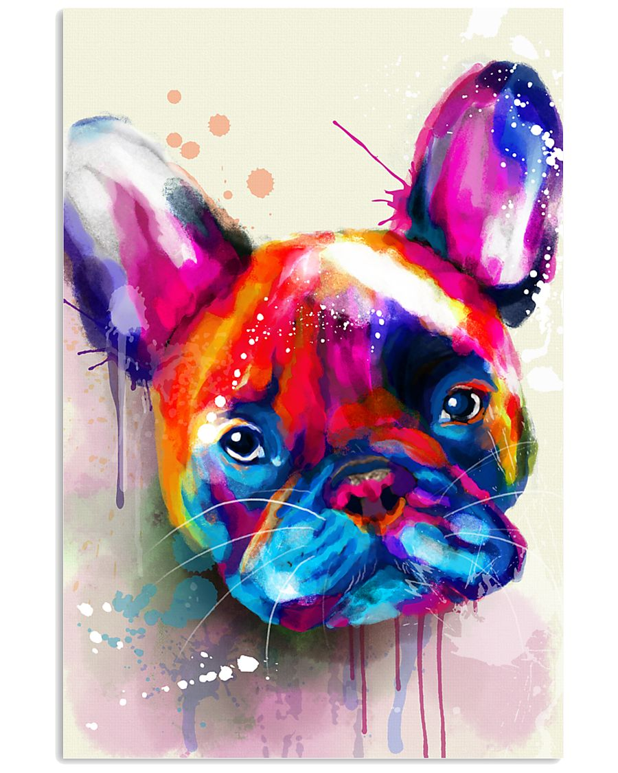 French bulldog color 11x17 Poster