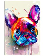 French bulldog color 11x17 Poster front